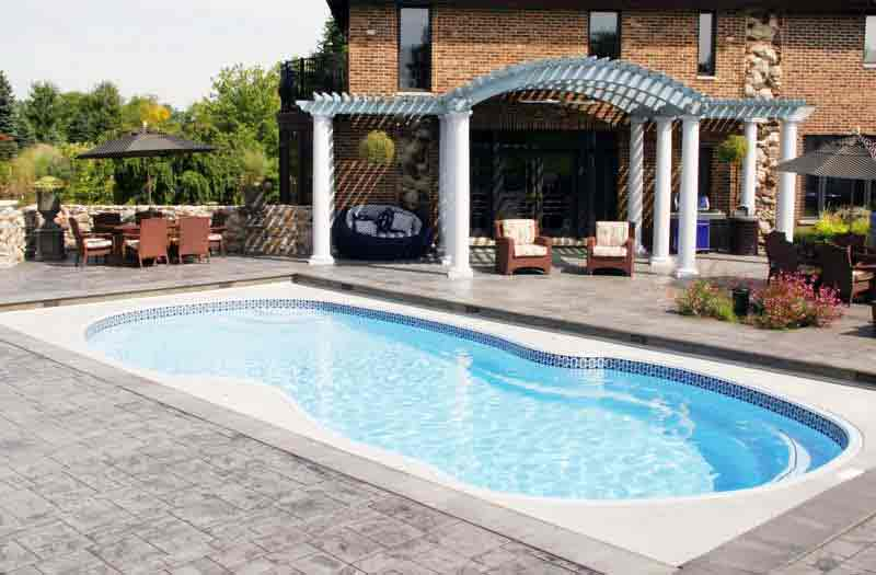 Viking Pools Venice Pool Model