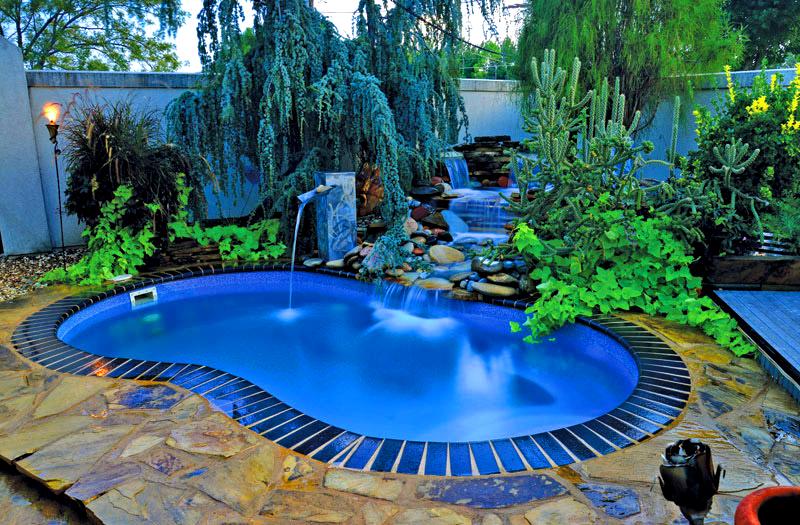 Blue hawaiian laredo 20 pool model for 10x20 pool design