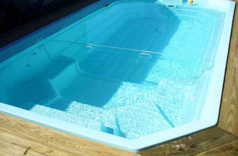 American Fiberglass Lavaca Pool Model