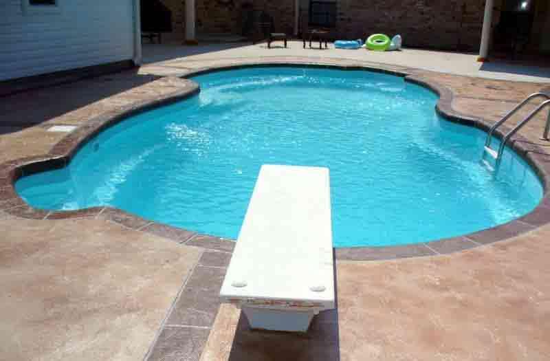 American Fiberglass Lazy 8 Pool Model