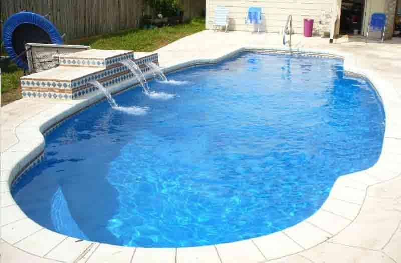 American Fiberglass Liano Pool Model
