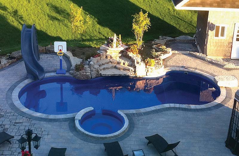 Leisure Pools Mediterranean Diving Pool Model