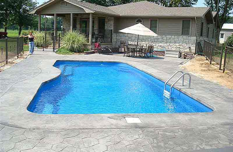 Inground pools fiberglass pools in new jersey and for Swimming pool financing