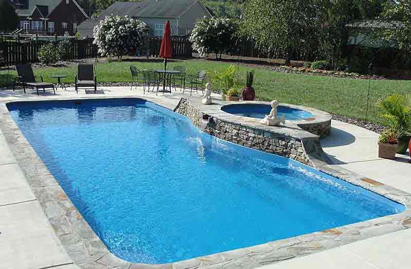 Inground fiberglass swimming pools in pennsylvania for Swimming pool estimate