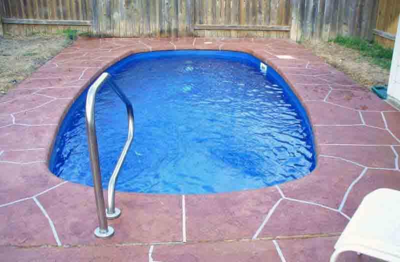 American Fiberglass Nueces Pool Model