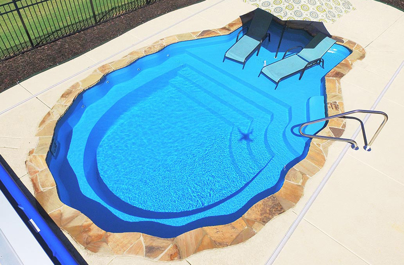 Pearl 25 Tanning Ledge Combo Pool