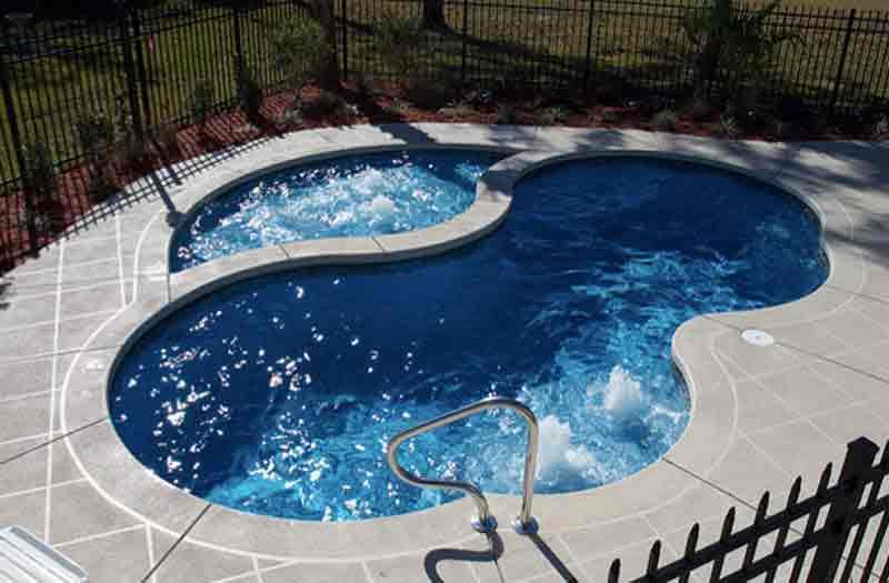 Viking pools fiberglass pools for Viking pools