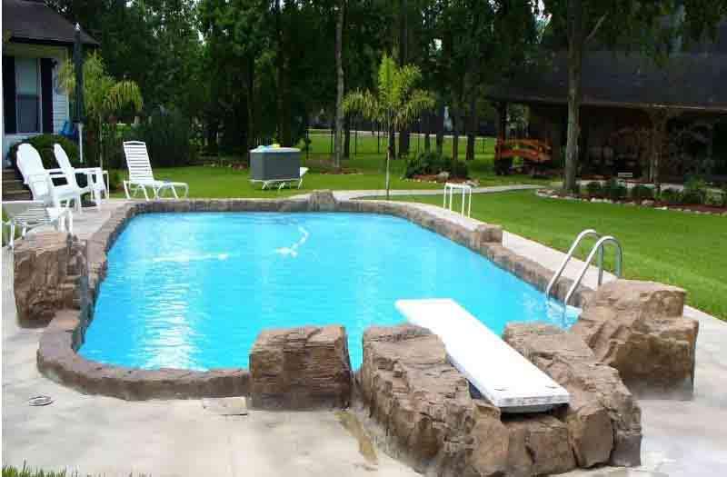 American Fiberglass Rio Grande Pool Model