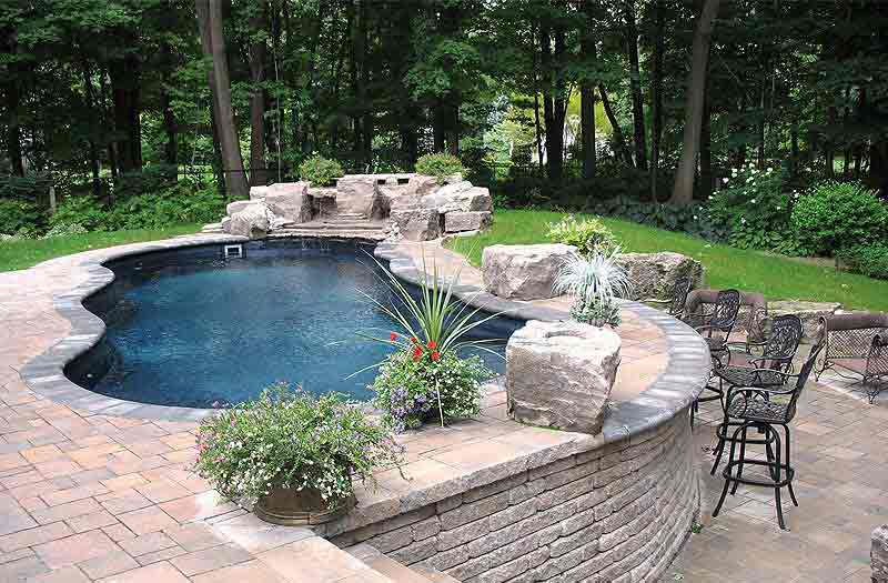 Fiberglass pools composite armor reinforced fiberglass - Riviera fiberglass pools ...
