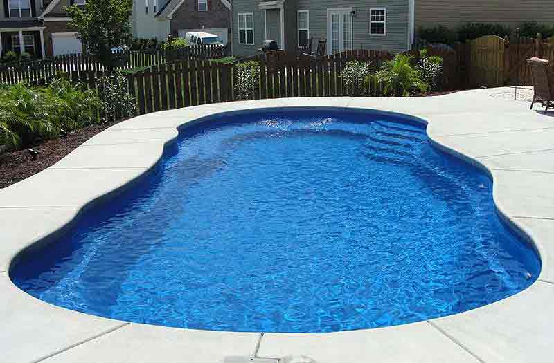 Photos of inground swimming pools swimming pool now - Riviera fiberglass pools ...