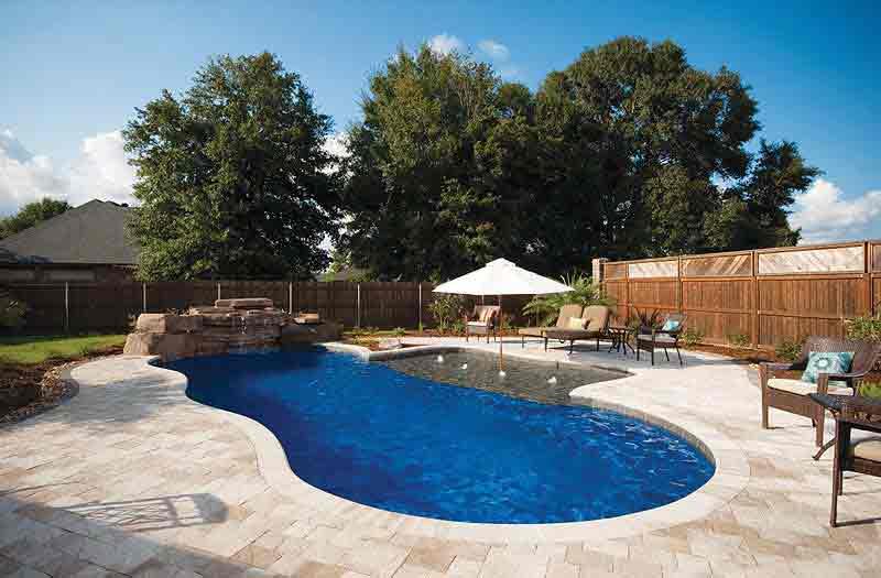 Leisure pools riviera 34 pool model - Riviera fiberglass pools ...