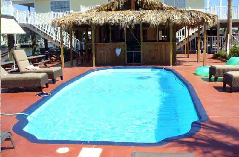 American Fiberglass San Antonio Pool Model