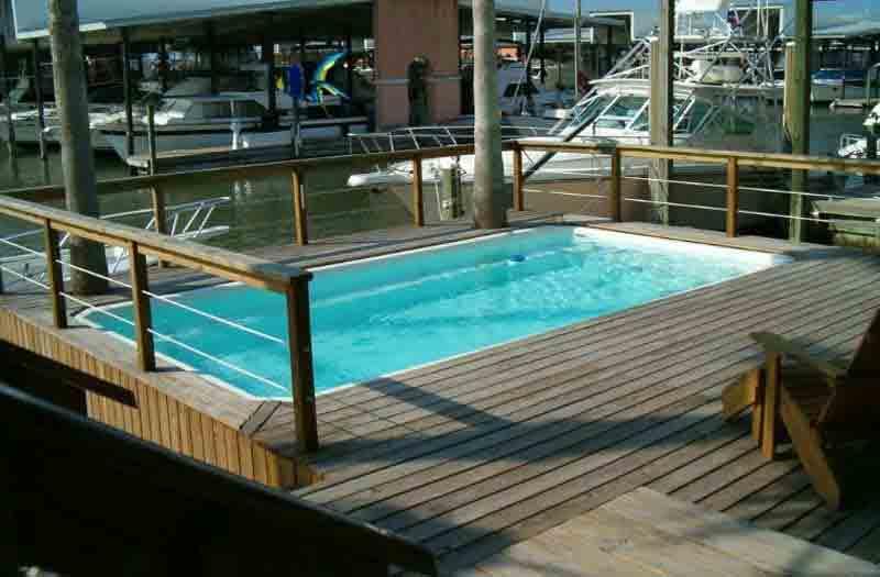 American Fiberglass San Marcos Pool Model