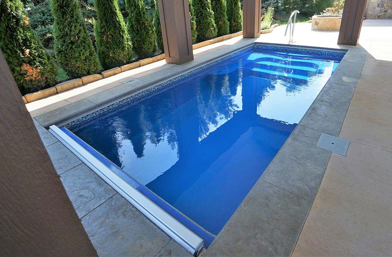 Photos Of Inground Fibergl Spas Plunge Pools
