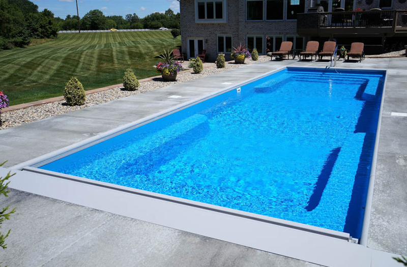 Where can i buy 4 to 5 feet deep fiberglass inground pool for Buy swimming pool