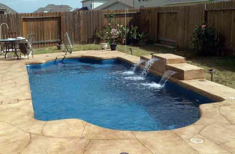 American Fiberglass Trinity Pool Model