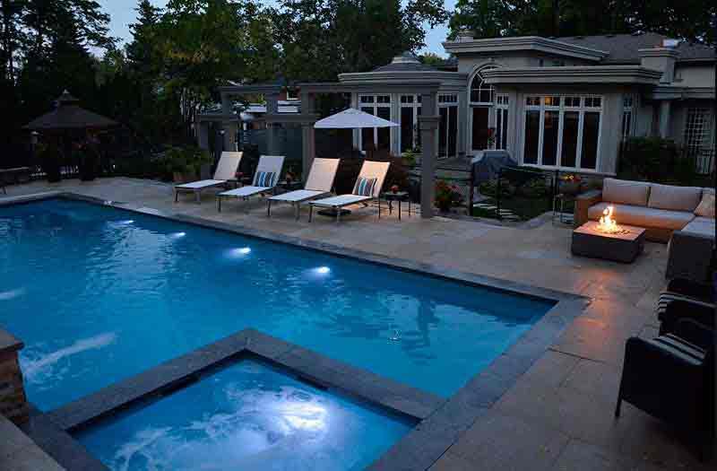 Leisure Pools Ultimate 35 Spa Combo Pool Model
