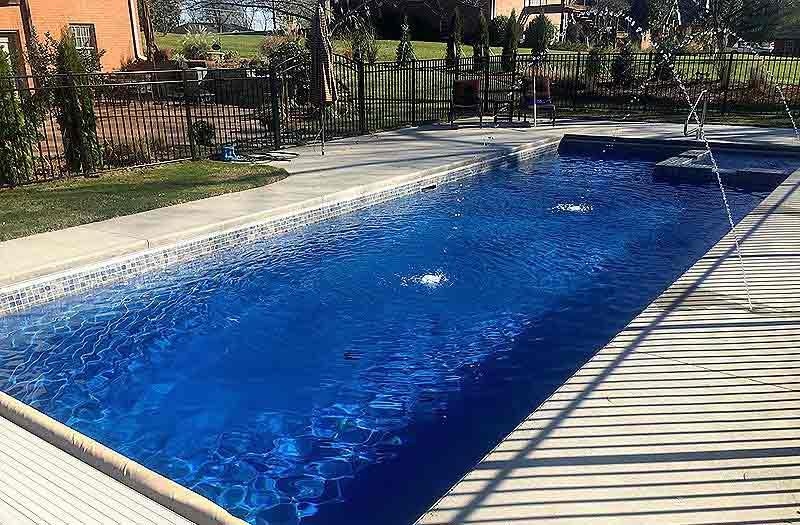 Leisure Pools Ultimate 40 Spa Combo Pool Model