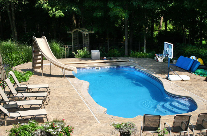 Inground pools fiberglass pools in new jersey and pennsylvania for Used fiberglass swimming pools for sale
