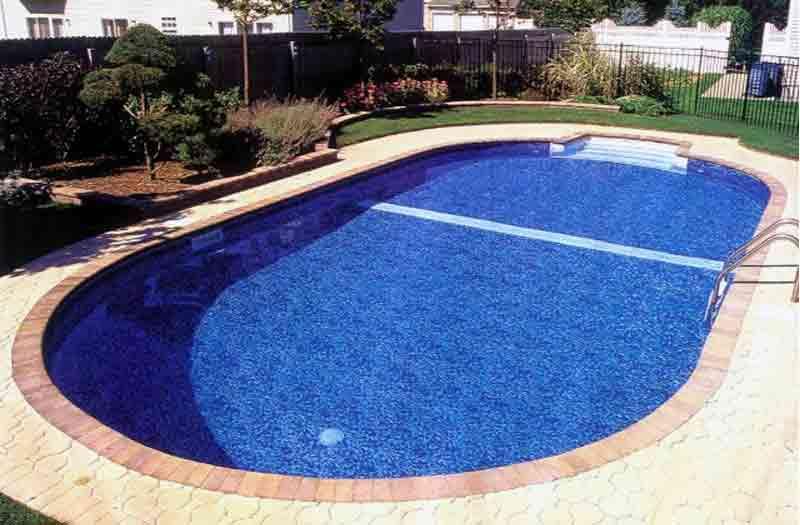 Utah Vinyl Liner Pool Model By Kafko