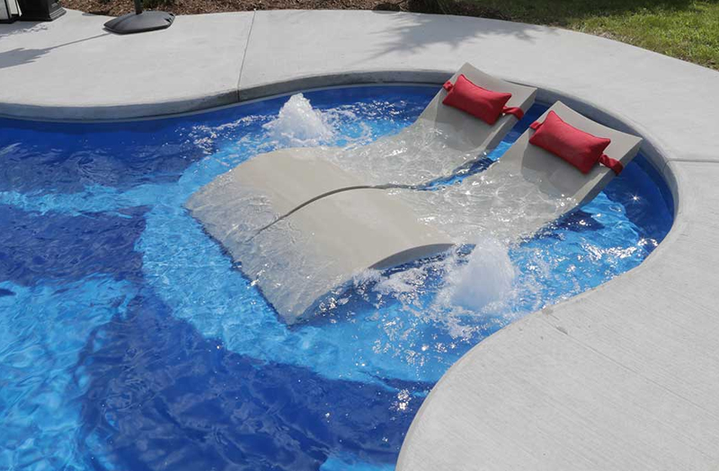 Wellspring 36 Tanning Ledge Combo 16 X 5 Pool By Thursday Pools