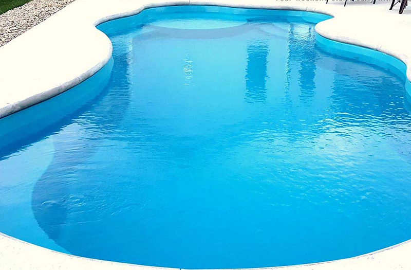 Wellspring 40 Tanning Ledge Combo 16 x 40 x 5 Pool by Thursday Pools