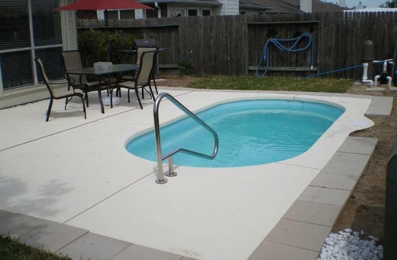 American Fiberglass Wichita Pool Model
