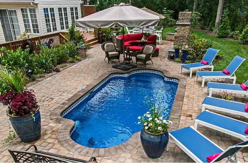 Inground pools fiberglass pools in new jersey and - Fiberglass swimming pool shells for sale ...