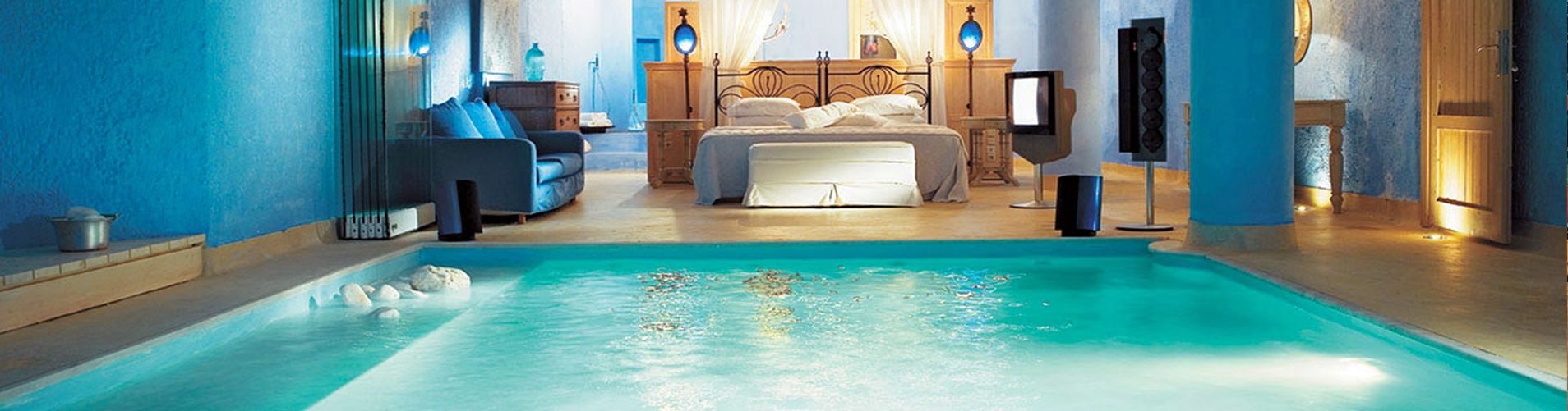Luxury Bedroom Rectangle Swimming Pool