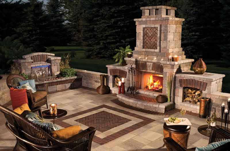 Swimming Pool Now is the source for all your Outdoor Fireplaces products & services. An outdoor fireplace is a place for building fires outside of the home. Similar in construction to an indoor fireplace