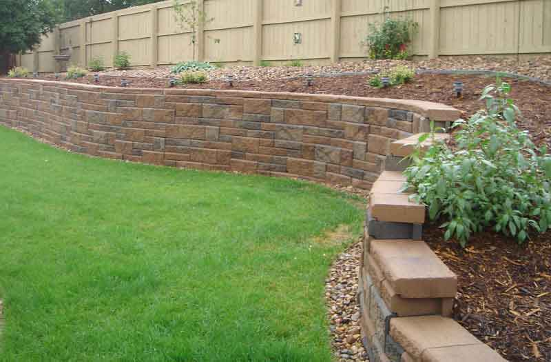 Retaining Wall Swimming Pool Now